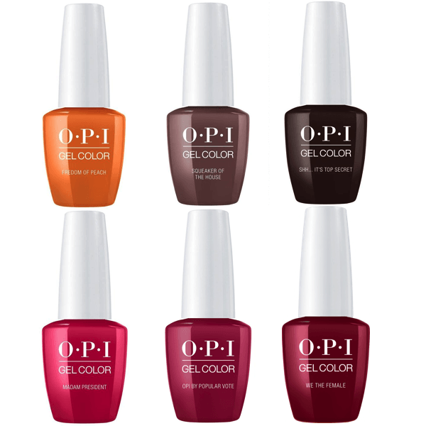OPI GelColor Fall 2016 Washington DC Collection Kit #2-Gel Nail Polish-Universal Nail Supplies