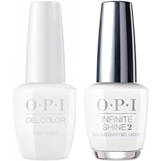 OPI GelColor Funny Bunny #H22 + Infinite Shine #H22-Gel Nail Polish + Lacquer-Universal Nail Supplies