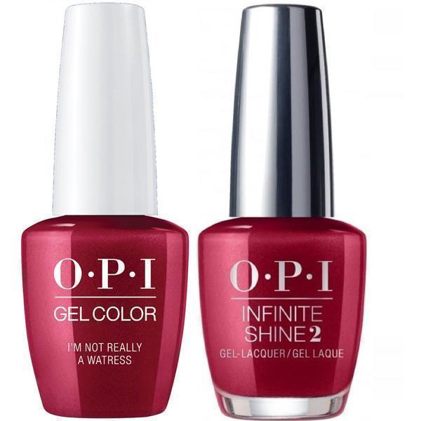 OPI GelColor #H08 + Infinite Shine I'm Not Really A Waitress #H08-Gel Nail Polish + Lacquer-Universal Nail Supplies