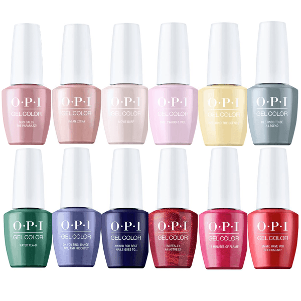 OPI GelColor Hollywood Spring 2021 Collection Set Of 12-Gel Nail Polish-Universal Nail Supplies