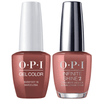 OPI GelColor + Infinite Shine Barefoot In Barcelona #E41-Gel Nail Polish + Lacquer-Universal Nail Supplies