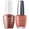 OPI GelColor + Infinite Shine Chocolate Moose #C89-Gel Nail Polish + Lacquer-Universal Nail Supplies