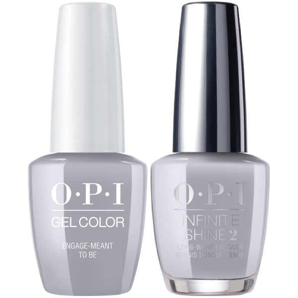 OPI GelColor + Infinite Shine Engage-Meant To Be #SH5-Gel Nail Polish + Lacquer-Universal Nail Supplies