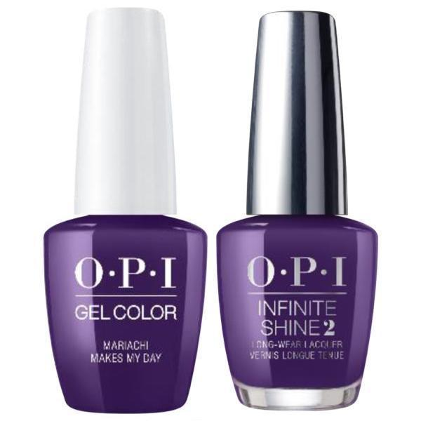 OPI GelColor + Infinite Shine Mariachi Makes My Day #M93-Gel Nail Polish + Lacquer-Universal Nail Supplies