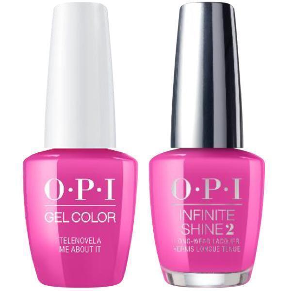 OPI GelColor + Infinite Shine Telenovela Me About It #M91-Gel Nail Polish + Lacquer-Universal Nail Supplies