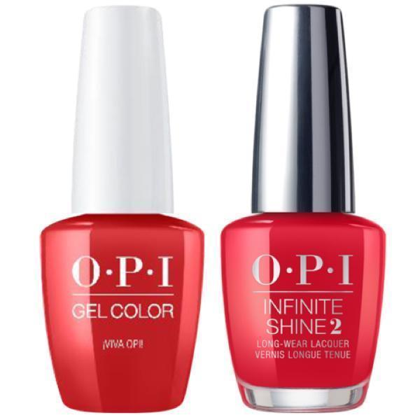 OPI GelColor + Infinite Shine Viva Opi! #M90-Gel Nail Polish + Lacquer-Universal Nail Supplies