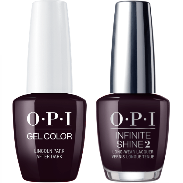 OPI GelColor Lincoln Park After Dark #W42 + Infinite Shine #W42-Gel Nail Polish + Lacquer-Universal Nail Supplies