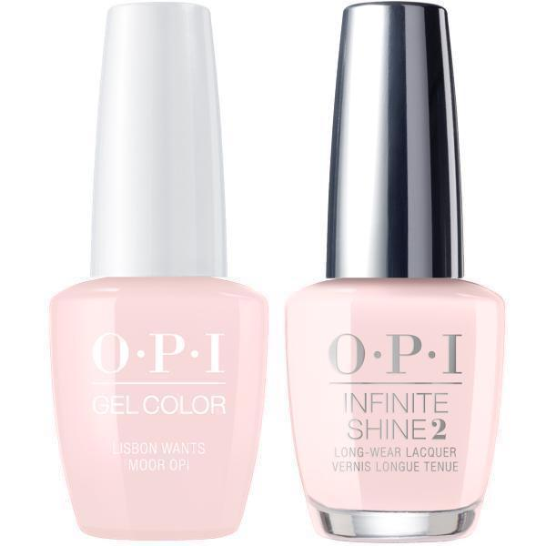 OPI GelColor Lisbon Wants Moor OPI #L16 + Infinite Shine #L16-Gel Nail Polish + Lacquer-Universal Nail Supplies