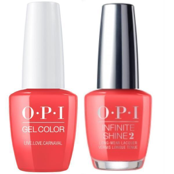 OPI GelColor Live.Love.Carnaval #A69 + Infinite Shine #A69-Gel Nail Polish + Lacquer-Universal Nail Supplies