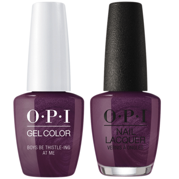 OPI GelColor + Matching Lacquer Boys Be Thistle-ing At Me #U17-Gel Nail Polish + Lacquer-Universal Nail Supplies