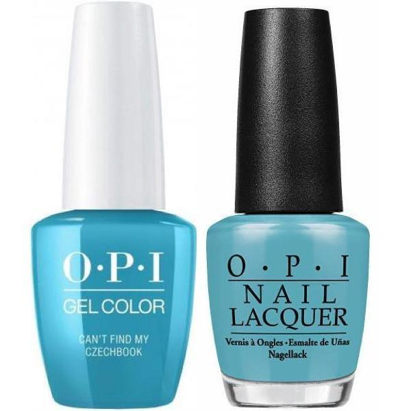 Opi GelColor Matching Lacquer Cant Find My CzechBook E75 Gel Nail