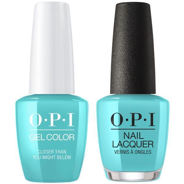 OPI GelColor + Matching Lacquer Closer Than You Might Belém #L24-Gel Nail Polish + Lacquer-Universal Nail Supplies