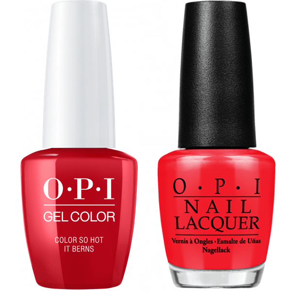 OPI Pro Health GelColor + Matching Lacquer - Universal Nail Supplies