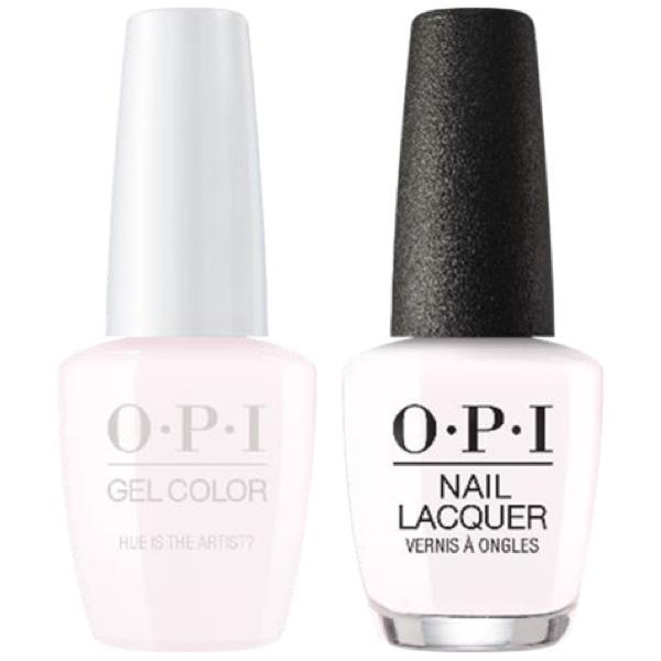 OPI GelColor + Matching Lacquer Hue Is The Artist? #M94-Gel Nail Polish + Lacquer-Universal Nail Supplies