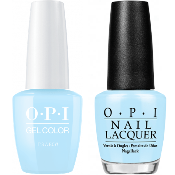 Opi Gelcolor Matching Lacquer It S A Boy T75 Universal Nail