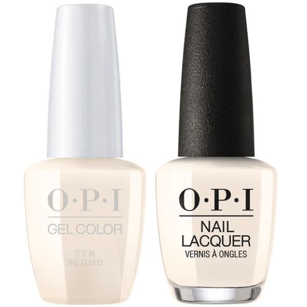 OPI GelColor + Matching Lacquer It's In The Cloud #T71-Gel Nail Polish + Lacquer-Universal Nail Supplies