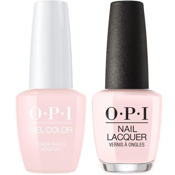 Opi Gelcolor Matching Lacquer Lisbon Wants Moor Opi L16