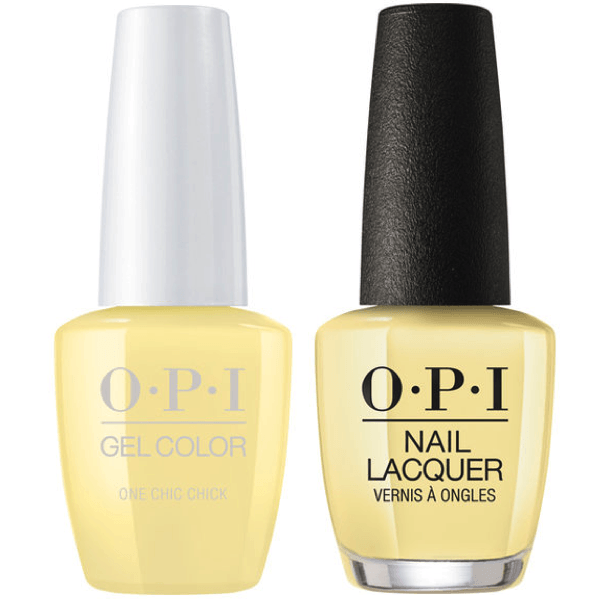 OPI GelColor + Matching Lacquer One Chic Chick #T73-Gel Nail Polish + Lacquer-Universal Nail Supplies