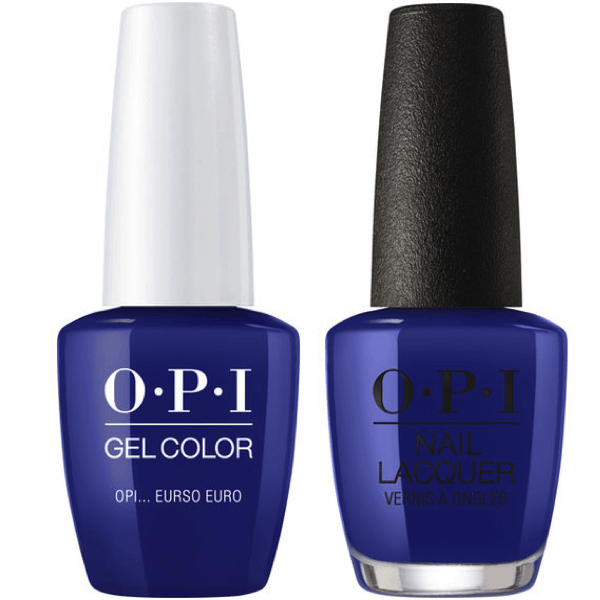 OPI GelColor + Matching Lacquer OPI... Eurso Euro #E72-Gel Nail Polish + Lacquer-Universal Nail Supplies