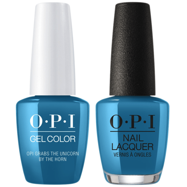 OPI GelColor + Matching Lacquer OPI Grabs The Unicorn by the Horn #U20-Gel Nail Polish + Lacquer-Universal Nail Supplies