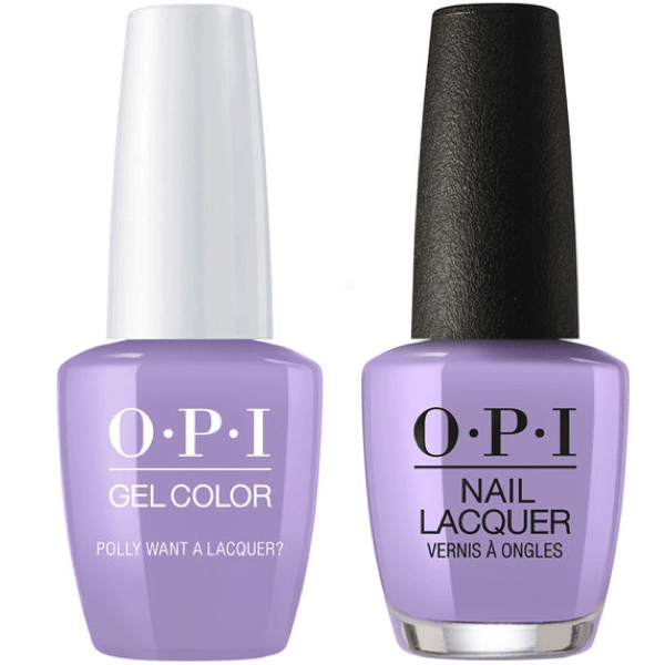 OPI GelColor + Matching Lacquer Polly Want A Lacquer #F83-Gel Nail Polish + Lacquer-Universal Nail Supplies
