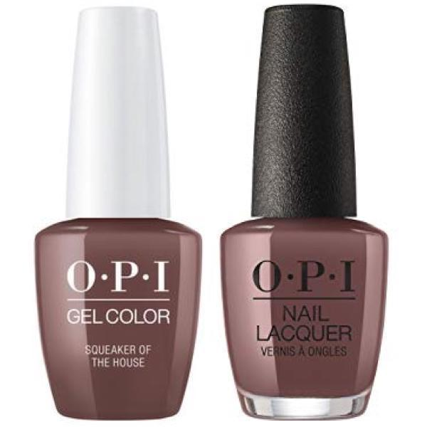 OPI GelColor + Matching Lacquer Squeaker Of The House #W60-Gel Nail Polish + Lacquer-Universal Nail Supplies