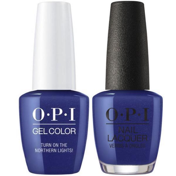 OPI GelColor + Matching Lacquer Turn on the Northern Lights #I57-Gel Nail Polish + Lacquer-Universal Nail Supplies