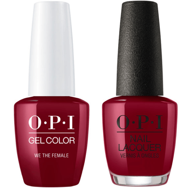 OPI GelColor + Matching Lacquer We The Female #W64-Gel Nail Polish + Lacquer-Universal Nail Supplies