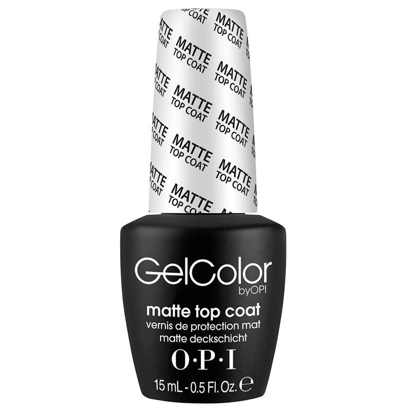 OPI GelColor Matte Top Coat-Gel Nail Polish-Universal Nail Supplies