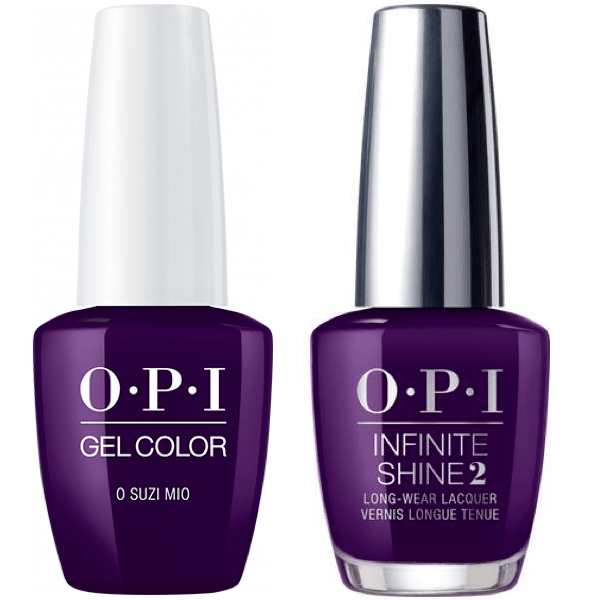 OPI GelColor O Suzi Mio #V35 + Infinite Shine #V35-Gel Nail Polish + Lacquer-Universal Nail Supplies