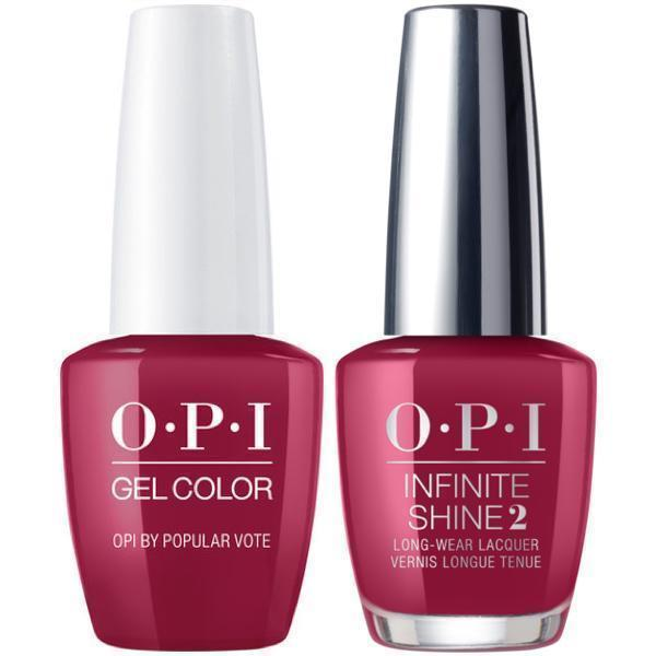 OPI GelColor OPI by Popular Vote #W63 + Infinite Shine #W63-Gel Nail Polish + Lacquer-Universal Nail Supplies