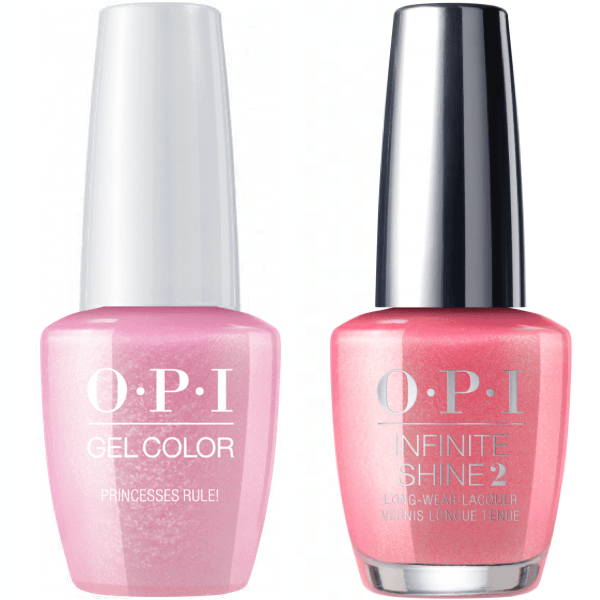 OPI GelColor Princesses Rule! #R44 + Infinite Shine #R44-Gel Nail Polish + Lacquer-Universal Nail Supplies