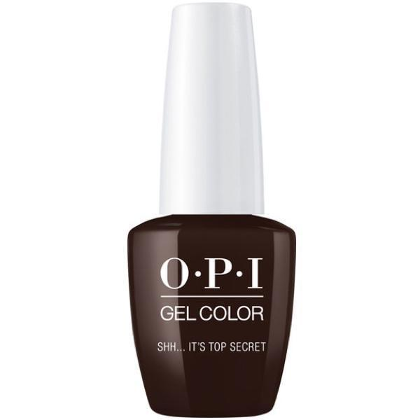 OPI GelColor Shh...It's Top Secret! #W61-Gel Nail Polish-Universal Nail Supplies