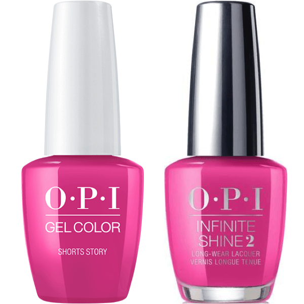 OPI GelColor Shorts Story #B86 + Infinite Shine #B86-Gel Nail Polish + Lacquer-Universal Nail Supplies