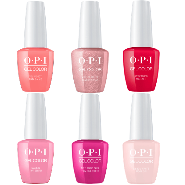 Opi Gelcolor Spring 2018 Lisbon Collection 1 Universal Nail Supplies