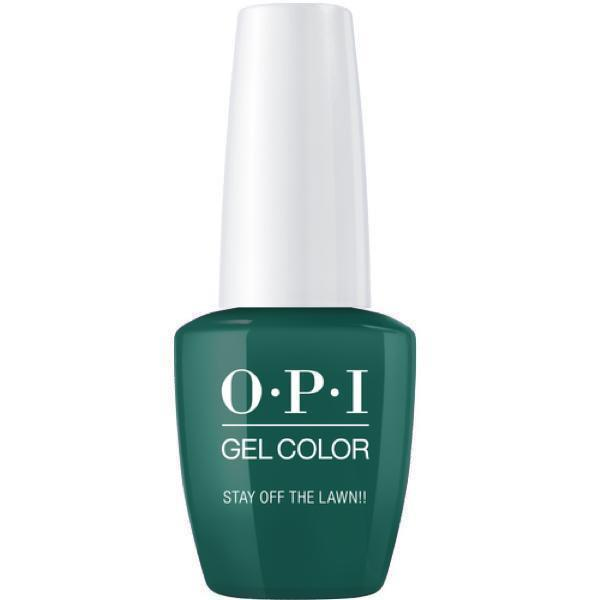 OPI GelColor Stay Off The Lawn!! #W54-Gel Nail Polish-Universal Nail Supplies