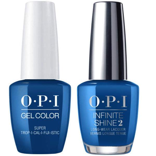 OPI GelColor Super Trop-i-cal-i-fiji-istic #F87 + Infinite Shine #F87-Gel Nail Polish + Lacquer-Universal Nail Supplies