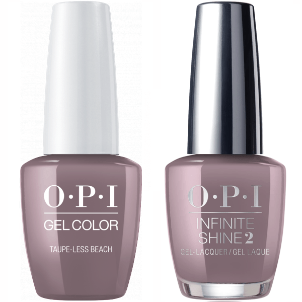 OPI GelColor Taupe-less Beach #A61 + Infinite Shine #A61-Gel Nail Polish + Lacquer-Universal Nail Supplies