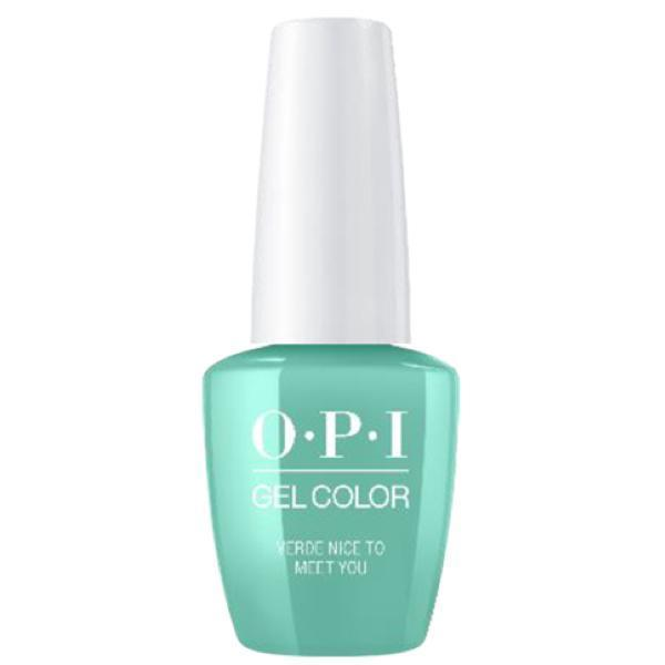 OPI GelColor Verde Nice To Meet You #M84-Gel Nail Polish-Universal Nail Supplies