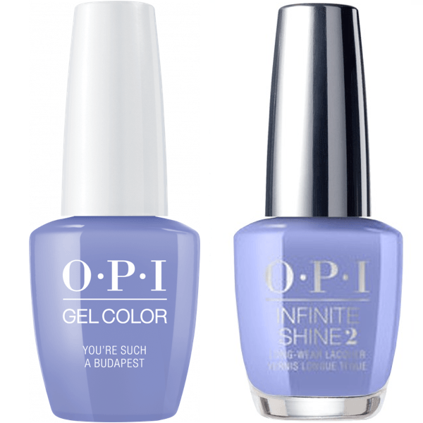OPI GelColor You're Such a BudaPest #E74 + Infinite Shine #E74-Gel Nail Polish + Lacquer-Universal Nail Supplies