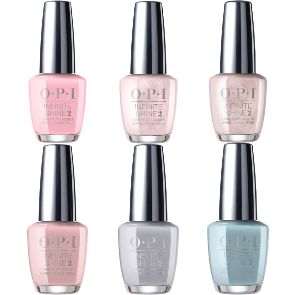 OPI Infinite Shine 2019 Always Bare For You Collection Set of 6-Nail Polish-Universal Nail Supplies