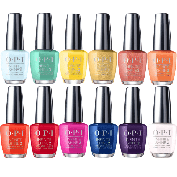 OPI Infinite Shine Spring 2020 Mexico City Collection Set Of 12-Nail Polish-Universal Nail Supplies