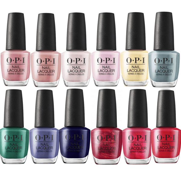 OPI Lacquer Hollywood Spring 2021 Collection Set Of 12-Nail Polish-Universal Nail Supplies