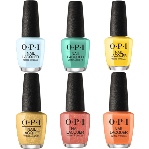 OPI Lacquer Spring 2020 Mexico City Collection Set of 6 #1-Nail Polish-Universal Nail Supplies