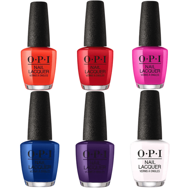 OPI Lacquer Spring 2020 Mexico City Collection Set of 6 #2-Nail Polish-Universal Nail Supplies