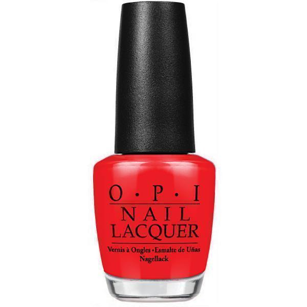 OPI Nail Lacquers - Big Apple Red #N25-Nail Polish-Universal Nail Supplies