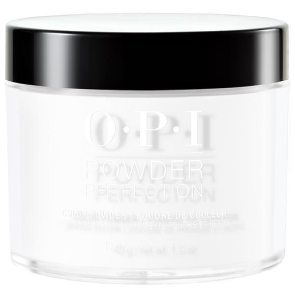OPI Powder Perfection Alpine Snow #DPL00A-Powder Nail Color-Universal Nail Supplies