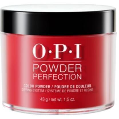 OPI Powder Perfection Big Apple Red #DPN25-Powder Nail Color-Universal Nail Supplies