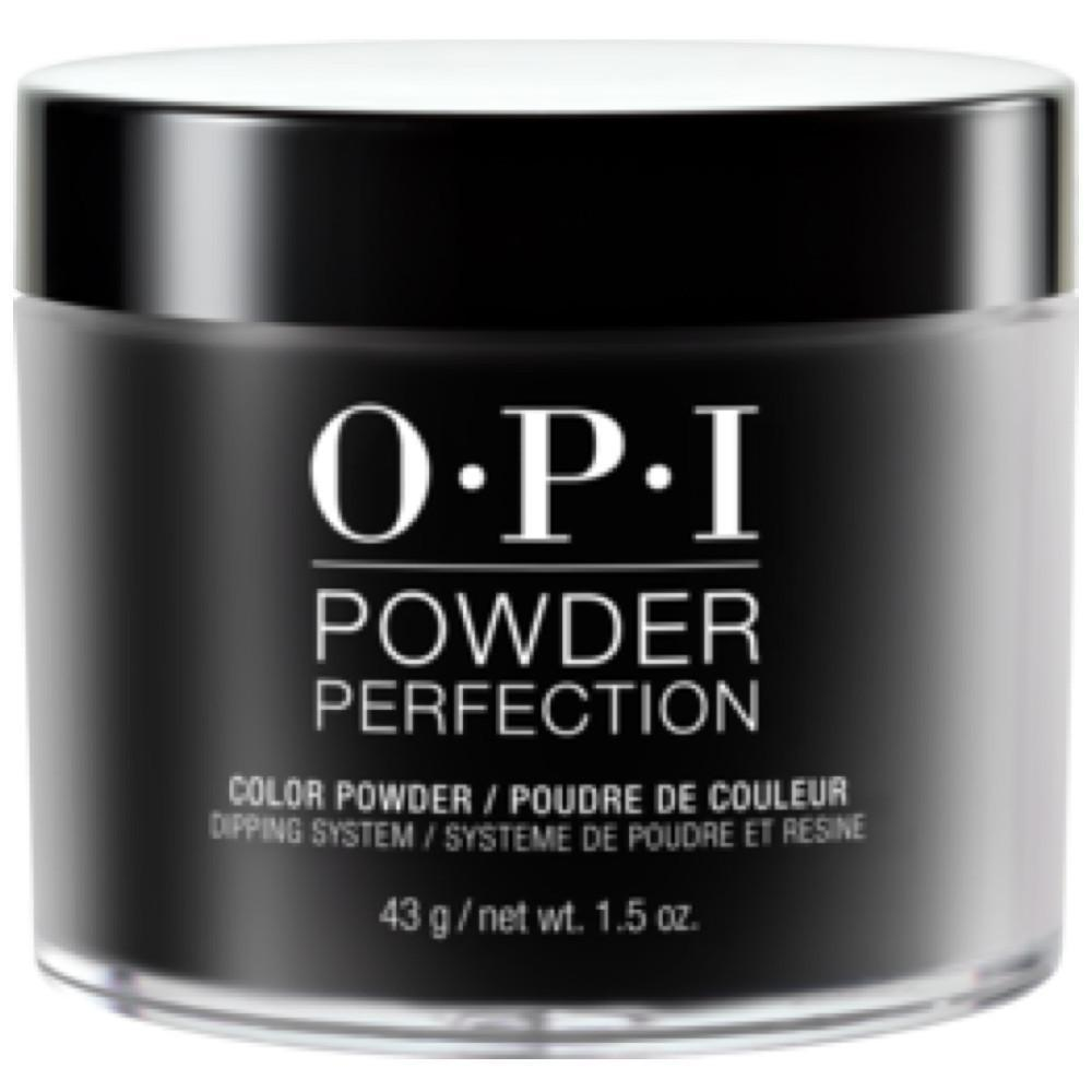 OPI Powder Perfection Black Onyx #DPT02-Powder Nail Color-Universal Nail Supplies
