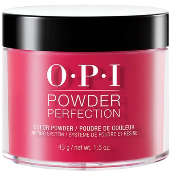 OPI Powder Perfection Red Heads Ahead #DPU13-Powder Nail Color-Universal Nail Supplies